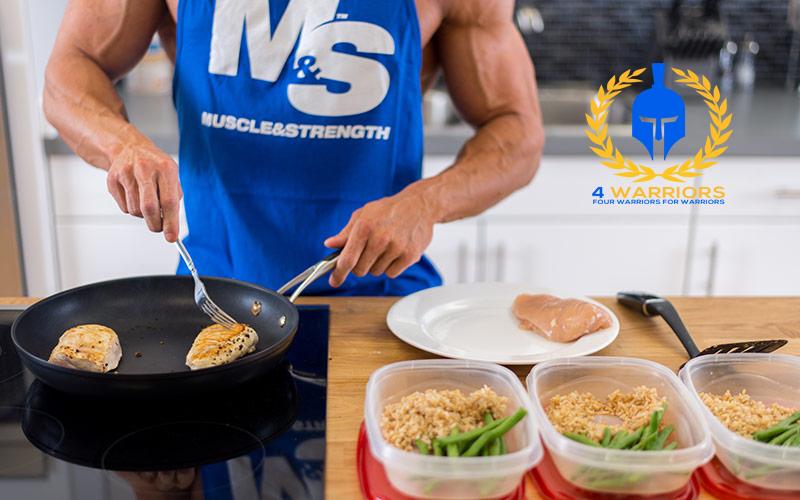فهرست غذا های حجم دهنده و عضله ساز